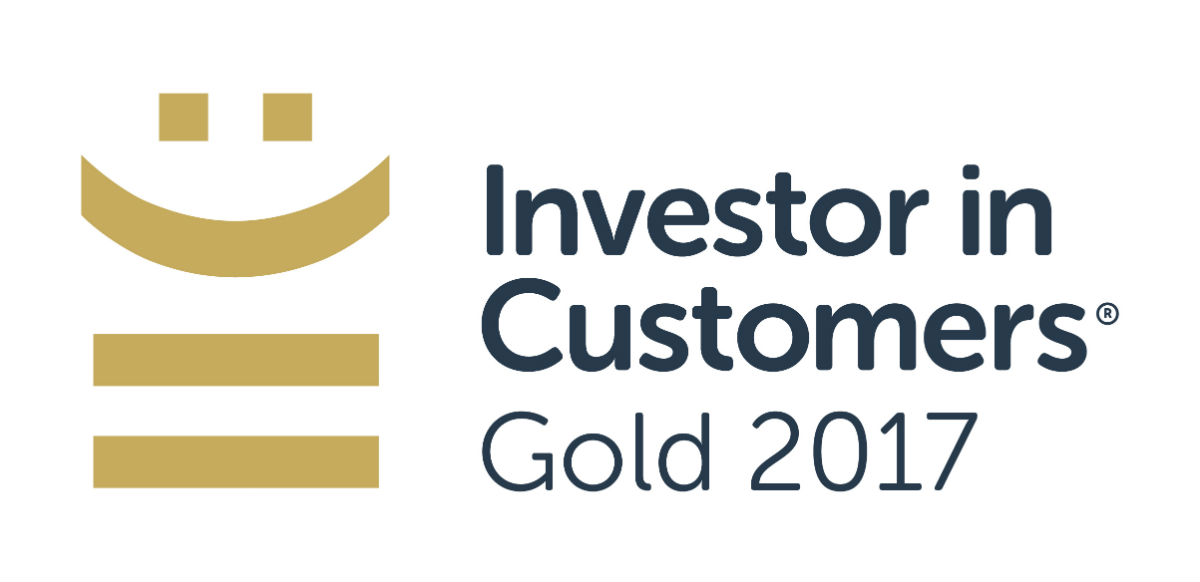 Investor in Customers Gold 2017