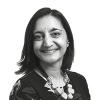 Mona Patel, Group Head of External Communications