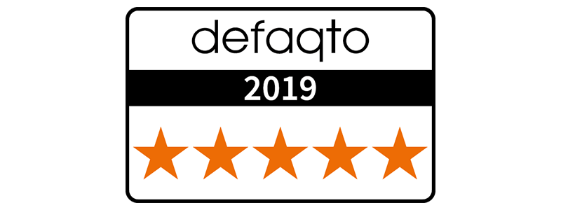Defaqto 5 star rated pension